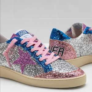🎉HP🎉GG | Deluxe Ball Super Star Glitter Sneakers